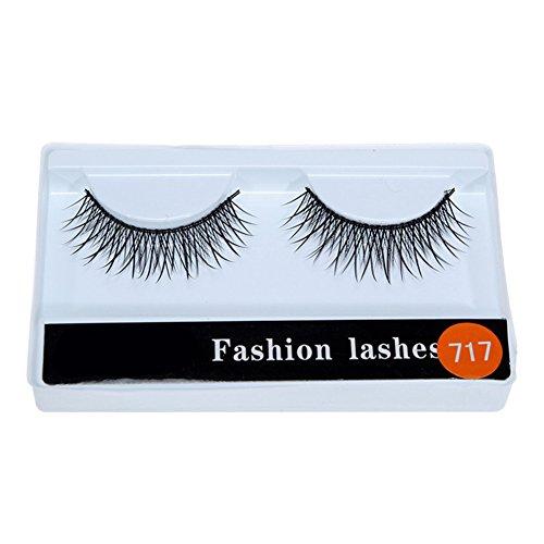 Buy natural looking false eyelashes for asian eyes