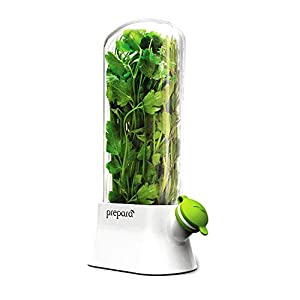 Prepara Eco Herb Savor Pod, Green, 6.2 x 2.9 x 10.7 inches