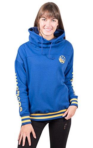 Ultra Game Women's Standard Fleece Hoodie Pullover Sweatshirt Funnel Neck, Team Color 18, ()
