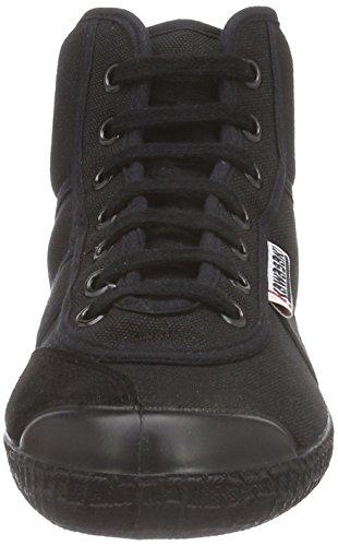 Kawasaki Rainbow Basic Unisex-Erwachsene Hohe Sneakers Schwarz (Black, 60)