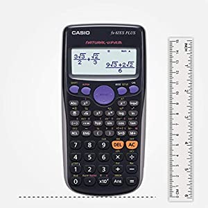 Casio FX-82ES Plus Non-Programmable Scientific Calculator,  252 Functions