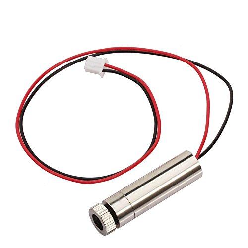 Laser Head,WER Laser Head for 1000mW USB DIY Laser Engraver Printer Mini Art Craft Science Industry Laser Engraving Cutting Machine by WER