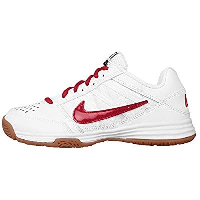 NIKE WMNS COURT SHUTTLE V Volleyball Badminton Shoes 525765-107 WHITE/RED