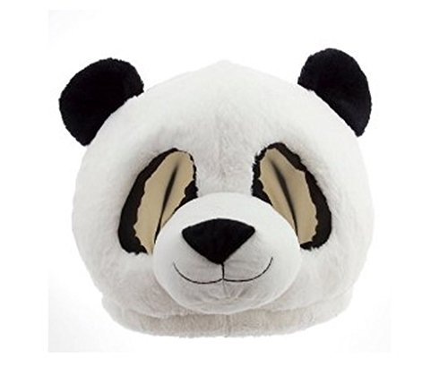 Maskimals Plush Head Halloween Costume, Panda -