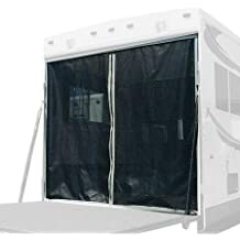Classic Accessories 79994 RV Toy Hauler Trailer Adjustable Bug/Shade Tailgate Screen, Steel Frame