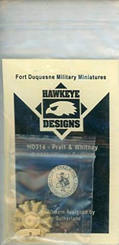 - Hawkeye Designs 1:48 Pratt & Whitney R-1340 Wasp Engine Resin Detail Set #HD314