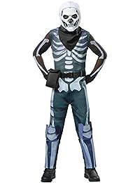 Boys Skull Trooper Fortnite Costume   Officially Licensed
