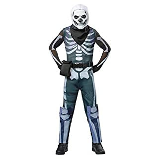 Spirit Halloween Kids Fortnite Skull Trooper Costume - M