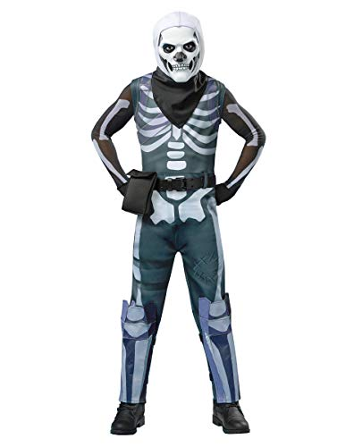 Spirit Halloween Kids Fortnite Skull Trooper Costume - L -