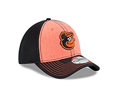 MLB Baltimore Orioles Heathered NEO 39Thirty Stretch Fit Cap