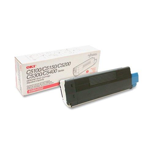 (Okidata 42804502 Toner Cartridge, Laser, Type C6, 3000 Page Yield, Magenta)