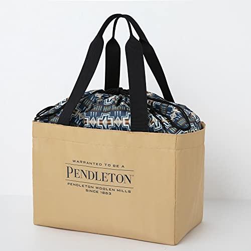 PENDLETON 保冷ができる BIG SHOPPING BAG BOOK BEIGE ver. 付録