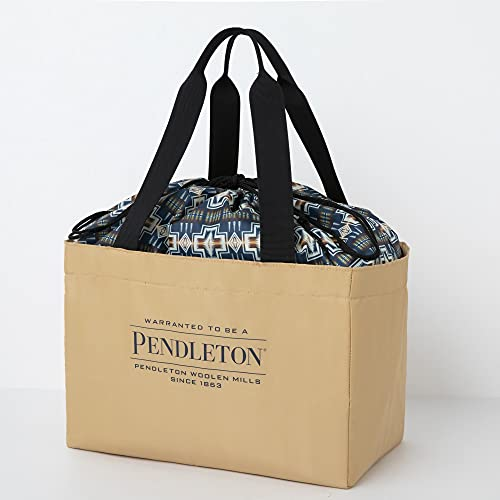 PENDLETON 保冷ができる BIG SHOPPING BAG BOOK BEIGE ver. 画像 B