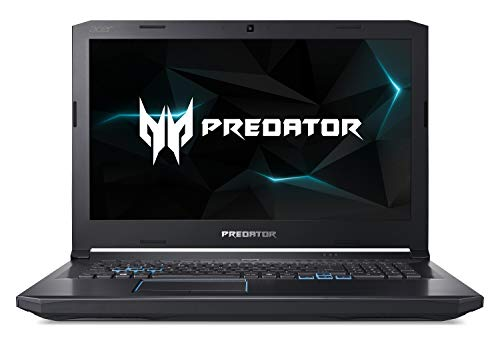 Acer Predator Helios 500 PH517-61-R0GX Gaming Laptop, AMD Ryzen 7 2700 Desktop Processor, AMD Radeon RX Vega 56 Graphics, 17.3