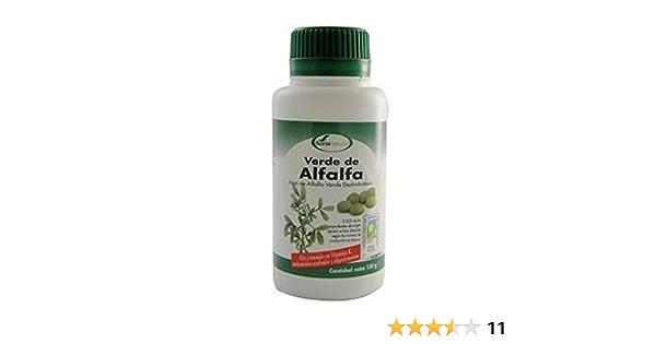 Verde de Alfalfa 300 comprimidos de Soria Natural