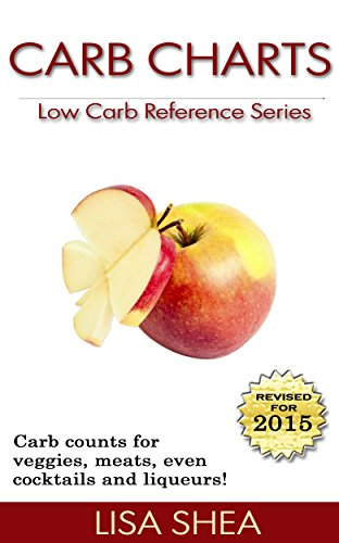 Carb Charts - Low Carb Reference by Lisa Shea