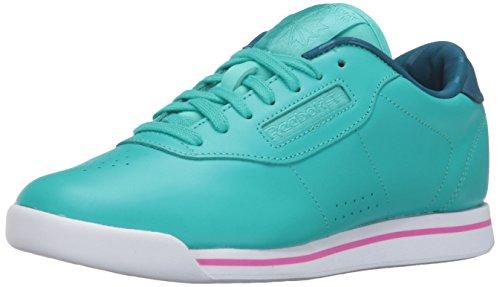 Reebok Women s Princess Candy Girl Classic Shoe, Glacier Blue/Noble Blue, 8 M US