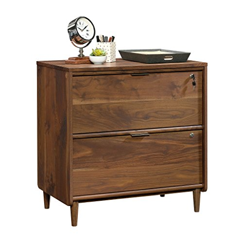 Medium Walnut Finish - Sauder 421114 Clifford Place Lateral File, L: 29.53