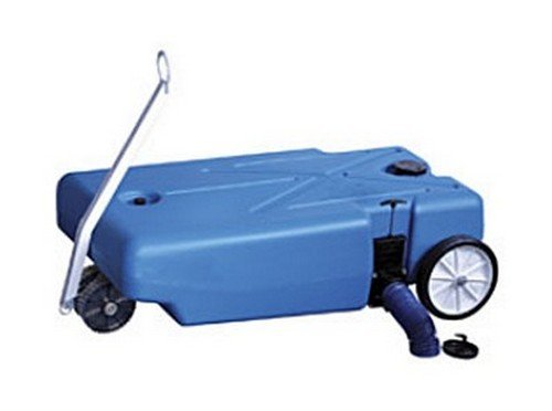 - Barker Mfg. 30844 RV Trailer Tote-Along Portable Holding Tank 42 Gallon