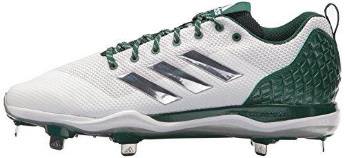 Adidaspoweralley Green Dark Met 5 White Ftwr Da Silver Poweralley Uomo zzwPU8rq