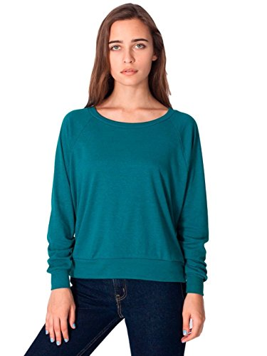 american-apparel-tri-blend-light-weight-raglan-pullover-tri-evergreen-medium