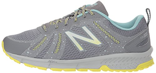 New Balance Women's 590v4 FuelCore Trail Running Shoe, Gunmetal, 5.5 D US by New Balance (Image #5)