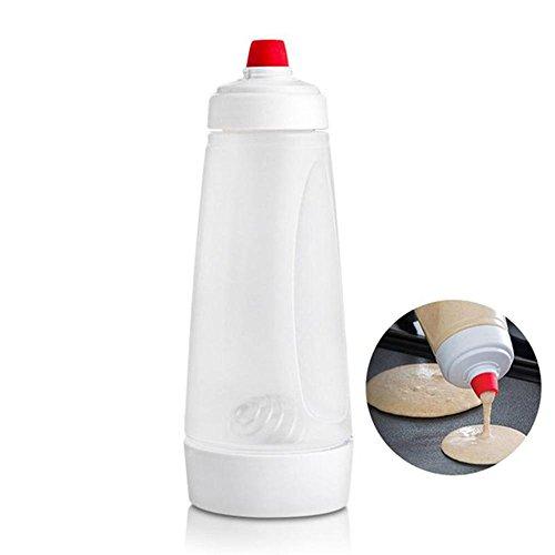 (Batter Mixing Bottle Cupcake Muffin Tool Pancake Dispenser Waffles Batter Dispenser Mix Bottle Kitchen Cake Baking Cookie Tool)