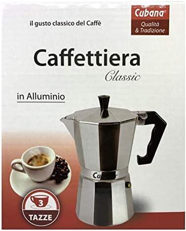 Cubana Moka Classic - Cafetera de Aluminio: Amazon.es: Hogar