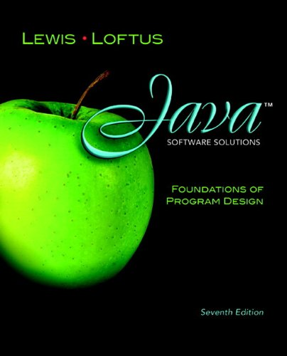 Java Software Solutions: Foundations of Program Design plus MyProgrammingLab with Pearson eText -- Access Card Package (7th Edition) by Brand: Addison-Wesley