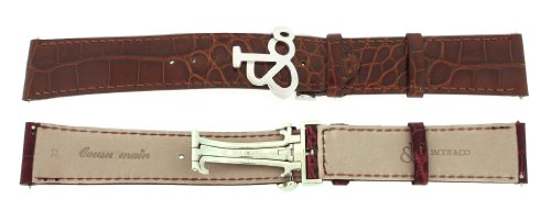 jacob-co-genuine-real-alligator-brown-band-strap-22mm-for-47mm-watch