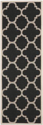 Black Beige Rug - Safavieh Courtyard Collection CY6243-266 Black and Beige Indoor/ Outdoor Area Rug (2' x 3'7