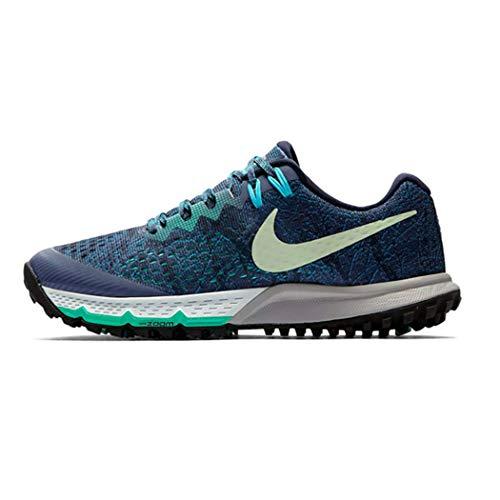 Blue Zoom Air Nike 4 400 W Donna Blu Kiger vapor Terra Scarpe Running diffused Da Green obsi 1x1pw7