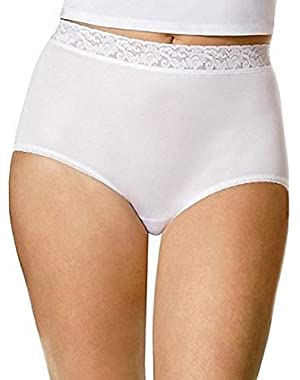 Hanes Women's Nylon Briefs D70LAS 12 Assorted (3 Pack)
