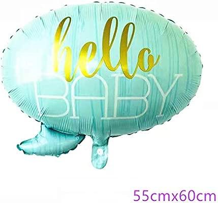 Baby Shower Decoraciones Globos de papel de aluminio Es un ...