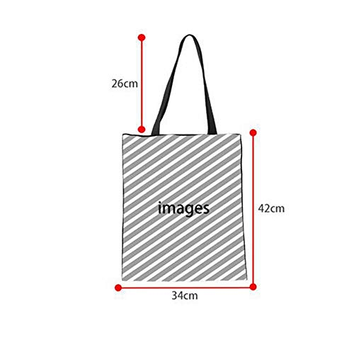 Friendly Totes Cat C3304z22 For 3D Folding Shopping Linen Female ZXXFR Shopper Cotton Handbag Women Eco Shoulder Ladies Bags C3304Z22 Ax4q5Pw