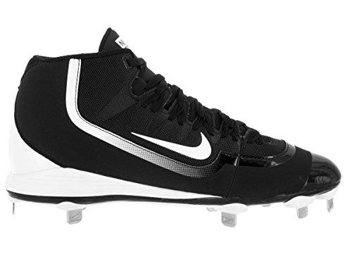 Black Huarache nbsp;kfilth Cleat Pro Mid Baseball 2 Nike white Tax0w