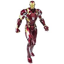 S.H. Figuarts - Iron Man Mark 46 Complete Scale Actiom Model Figure Captain America: Civil War Marvel Comics New Movie Film Tony Stark Toy Bandai