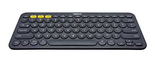 Click to buy Logitech K380 Keyboard, German Black, 920-007566 (Black) - From only $67