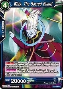 Amazon.com: Dragon Ball Super TCG - Whis, The Sacred Guard ...