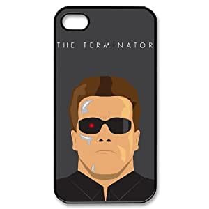 QSWHXN Cover Custom New Pattern Printing The Terminator 2 Phone Case For Iphone 4/4s [Pattern-1]