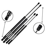 A-Premium Tailgate Lift Supports Shock Struts Spring Prop Compatible with Nissan 370Z 2009-2019 2-PC