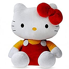 SANA Polyester Hello Kitty Soft Toy Character Specially for Kids (Red, 26cm)