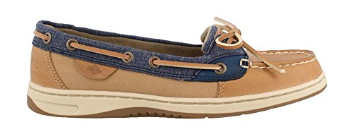 Mesh Sperry Sahara Angelfish Oat Eye Women's Slip Top Loafer Sider on 2 qqHP4B1w