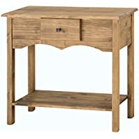 Manhattan Comfort Jay Collection Modern Wooden Sideboard Table with One Drawer and One Shelf, Wood