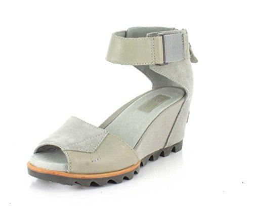 De la Mujer de Sorel Joanie cuña sandalias Dove