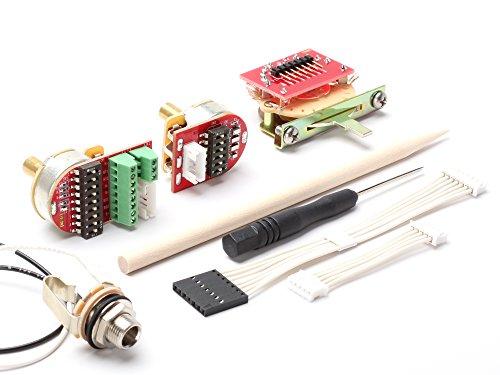ToneShaper NextGen Wiring Kit, Solder-Free, NG01 w/ 5-Way Switch (Tele & Many Other Guitars, 2 -