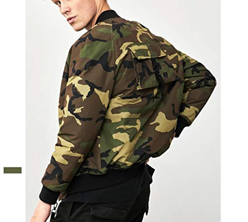 NLJ NLJ Piumino Casual Camouflage Camouflage Camouflage Invernale Outdoor da YR Uomo Invernale da Camuffare Giacca Uomo wRxqZ1wB