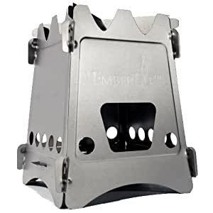 Emberlit Titanium UL Compact Design Perfect for Survival, Camping, Hunting & Emergency Preparation