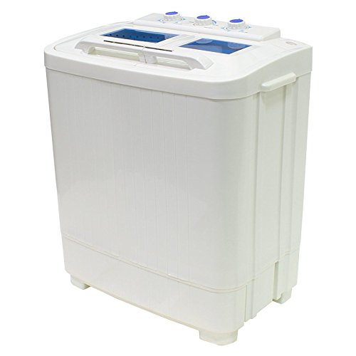 Portable Compact Washer and Spin Dry Cycle with Built in Pump (33L Washer & 16L Spin Dryer) (Compact Washer Spin compare prices)