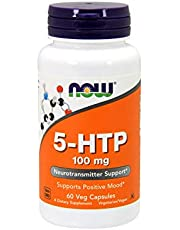 Now Foods 5-HTP, 100mg, Veg Capsules, 60ct